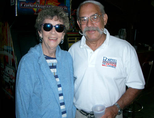 Joann and Jerry Feinstein in 2003.