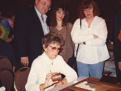Joann Feinstein with Peter Kalba, Amy Trudeau, and Roz Ferris.