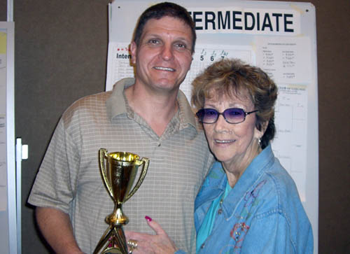 Sal Pittelli and Joann Feinstein