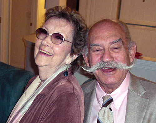 Joann and Jerry Feinstein in 2012