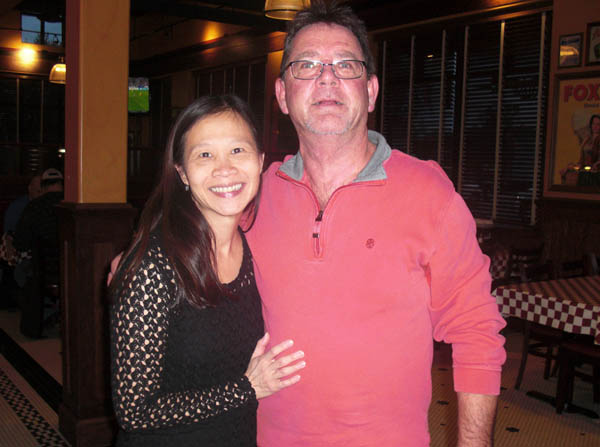 Paulette Duong and Don Marek