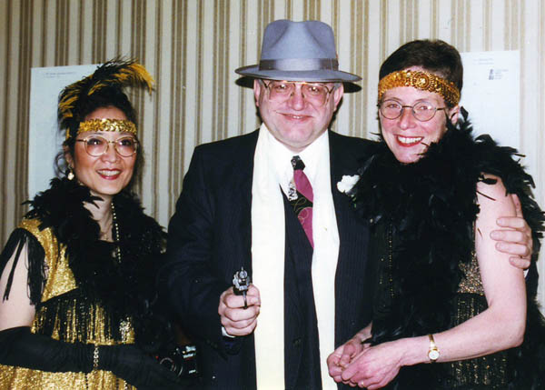 Peter Kalba, Carol Joy Cole, Dru Heggen at the 1997 MBC